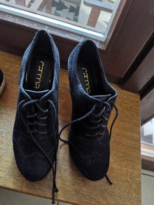 Carma High Heels, Schnür Pumps, Ankle Boots schwarz