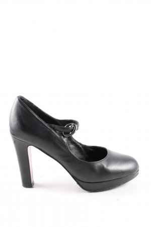 Carma Shoes Mary Jane Pumps schwarz Business-Look