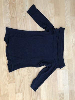 17&co Carmen shirt donkerblauw
