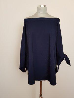 Steffen Schraut Carmen Blouse dark blue cotton