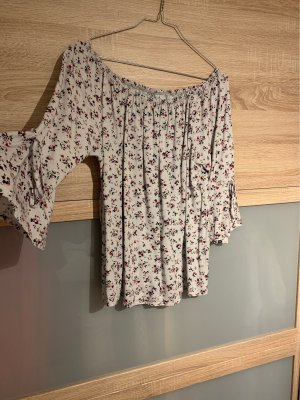 Blouse Carmen multicolore