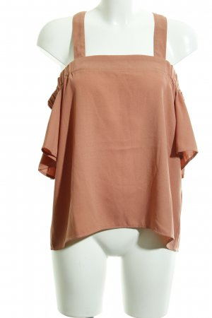 Carmen-Bluse apricot Casual-Look