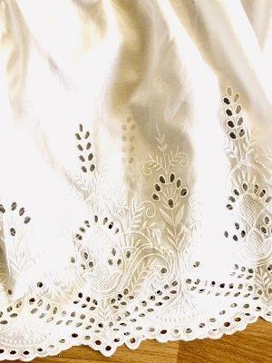 Zara Woman Blouse Carmen blanc