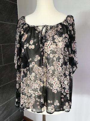 Carmen-Bluse von Zara Größe XS