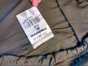 Madonna Carmen shirt bos Groen-khaki Viscose