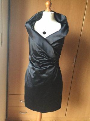 CARMEN Cocktail Kleid mit Kette und Ohrringe aus Silber