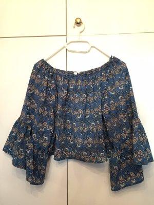 Carmen Crop Shirt