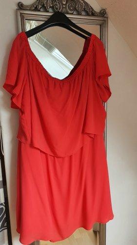 asos curve Off-The-Shoulder Dress multicolored