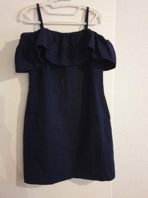 Ralph Lauren Sukienka bez ramiączek niebieski Bawełna