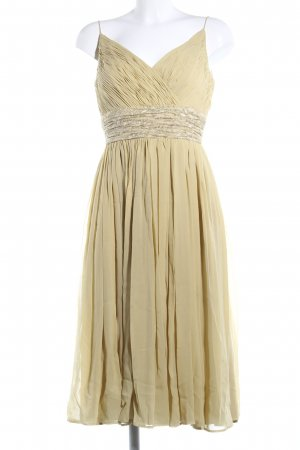 Carmen Marc Valvo Babydoll Dress gold-colored business style