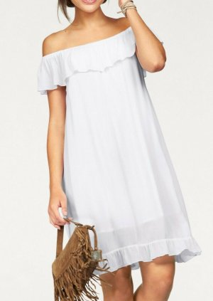 AJC Hippie Dress white cotton