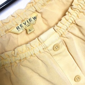 Carmen - Review - Bluse - Offen Schulter - Gelb - L