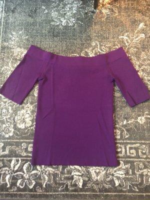 Hallhuber Carmen shirt lila