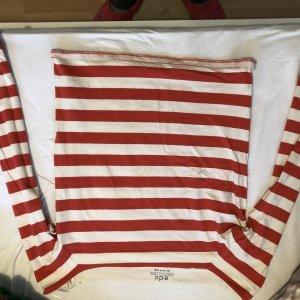 edc Camisa tipo Carmen blanco-rojo ladrillo
