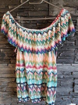 Comma Carmen Shirt multicolored