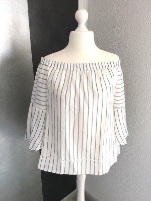 Carmen-Stil Bluse Gr. 46