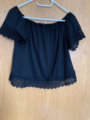 Tally Weijl Carmen shirt zwart