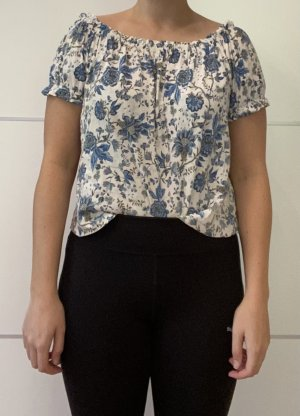 H&M Koszula typu carmen Wielokolorowy