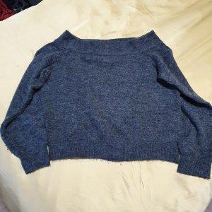 Carmenausschnitt Pullover