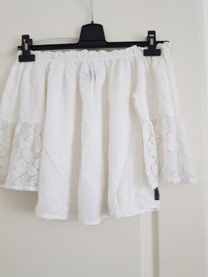 Blanc du Nil Carmen blouse wit