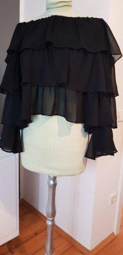 Zara Woman Blouse Carmen noir