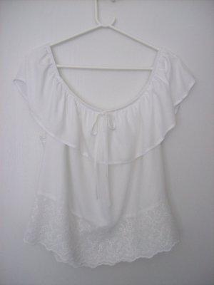Clockhouse Carmen blouse wit Viscose