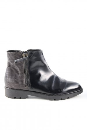 Carmens Ankle Boots black-brown casual look