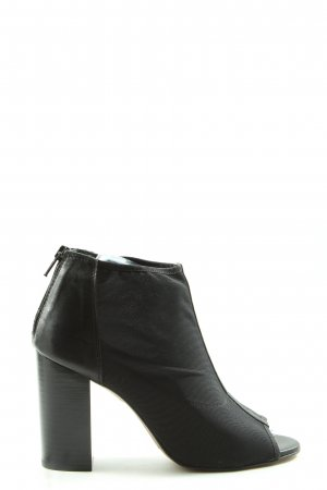 Carmens Cut Out Booties black casual look