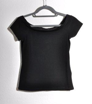 Anna Field Carmen shirt zwart