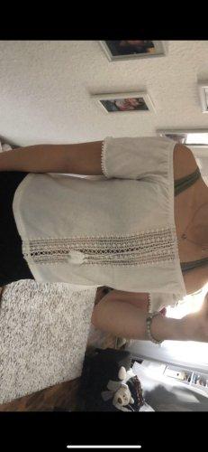 H&M Carmen shirt wit