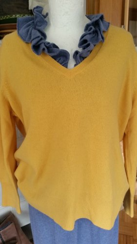 Carnabys Cashmere Jumper yellow