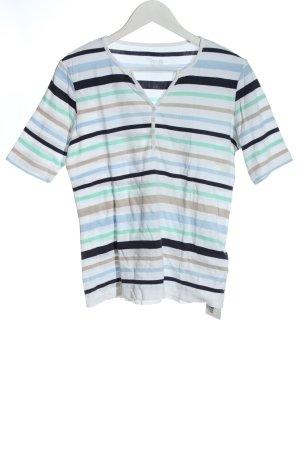Carnaby's London T-shirt rayé motif rayé style décontracté