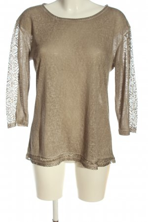 Carnabys Slip-over blouse wolwit casual uitstraling