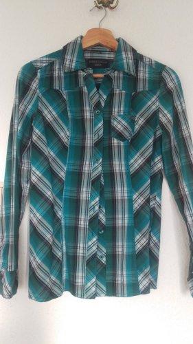 c.a.r.o. Camicia a maniche lunghe multicolore Tessuto misto