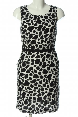 Carole Little Mini Dress white-black graphic pattern casual look