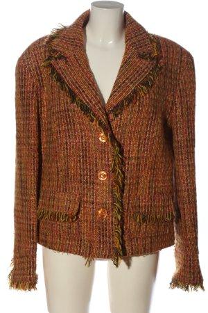 carolin vanity Tweed Blazer multicolored casual look