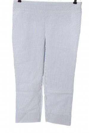Carolina Belle Jersey Pants blue-white allover print casual look
