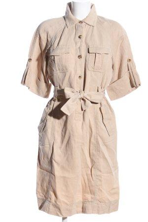 Carolina Herrera Sukienka koszulowa kremowy W stylu casual
