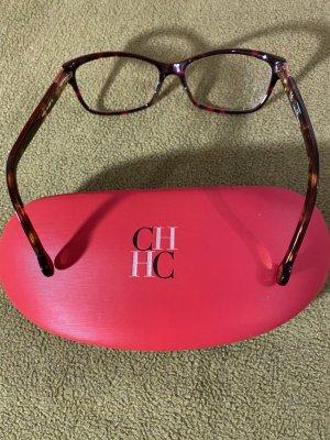 Carolina Herrera Okulary czerwony neonowy