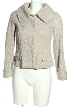 Carolina Herrera Veste courte gris clair style décontracté