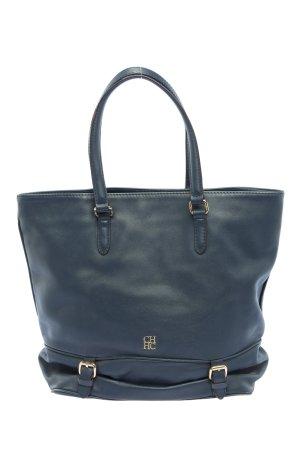 Carolina Herrera Shopper bleu style d'affaires