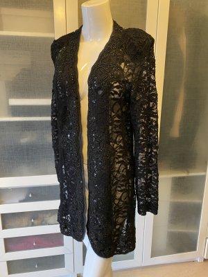 Carolina Herrera Frock Coat black cotton