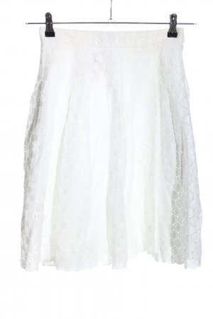 Carolina Herrera Circle Skirt white casual look