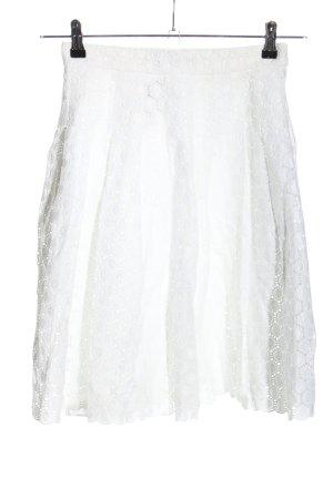Carolina Herrera Spódnica z koła biały W stylu casual