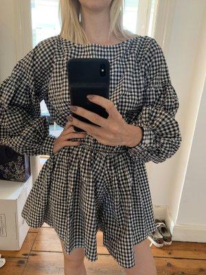 Caroline Constas New York karierter Anzug Onesie Karos Einteiler Sample-Size