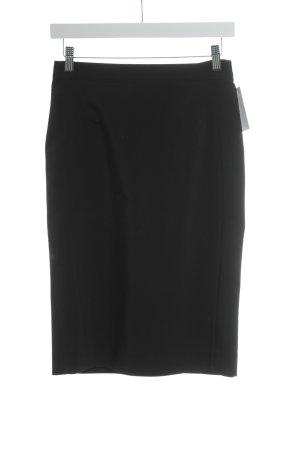 Caroll Ołówkowa spódnica czarny W stylu biznesowym