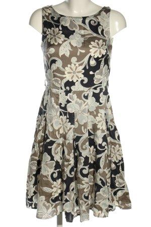Caroll Sukienka koszulowa jasnoszary-czarny Na całej powierzchni Elegancki