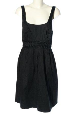 Caroll Empire Dress black striped pattern casual look