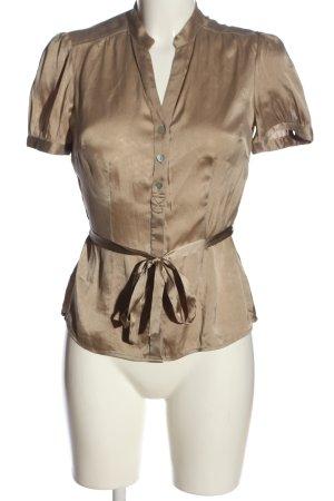 Caroll Koszula z krótkim rękawem w kolorze białej wełny W stylu biznesowym