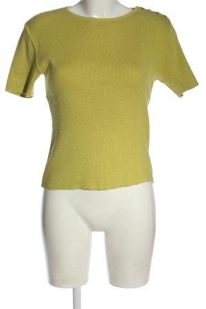 Caroll Sweater met korte mouwen sleutelbloem casual uitstraling